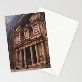 Petra treasury Stationery Cards