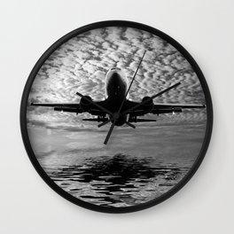 Flight path 2 Wall Clock