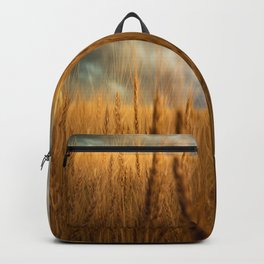 Harvest Time - Golden Wheat in Colorado Field Backpack