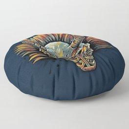 Killmonger Tribal Mask Floor Pillow