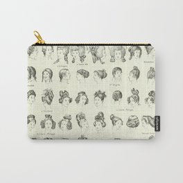 Historical Hair Carry-All Pouch