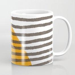 Lines and Color Series 7 | Modern art home decor, boho chic home, minimalist pattern Coffee Mug
