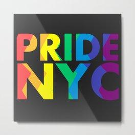 PRIDE NYC Metal Print