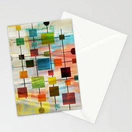 Mid-Century Modern Art 1.3 -  Graffiti Style Stationery Cards