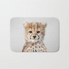 Baby Cheetah - Colorful Bath Mat