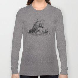 Ghibli Coffee Long Sleeve T-shirt