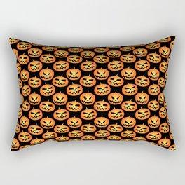 Jack O' Lantern Happy Halloween Scary Horror  Rectangular Pillow