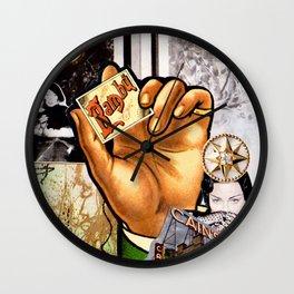 Catch the Lights Wall Clock