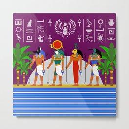 Egyptian Night Metal Print