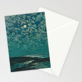 Classical Masterpiece 'Isle of Shoals' Rhode Island by Frederick Childe Hassam Stationery Cards