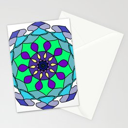 An aid to meditation exercises Stationery Cards
