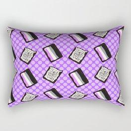 Asexual Pride Tarts Rectangular Pillow