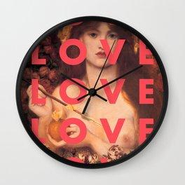 LOVE LOVE LOVE LOVE Wall Clock