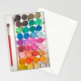 Watercolor Set Stationery Cards