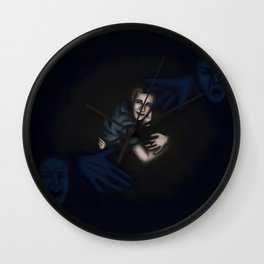 Fitz Saving Simmons Wall Clock