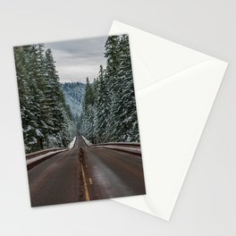 Winter Road Trip - Pacific Northwest Nature Photography Stationery Cards