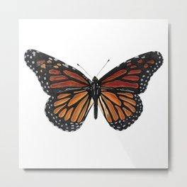 Mystical monarch butterfly Metal Print