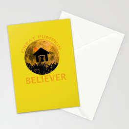 Great Pumpkin Believer 1966 Stationery Cards