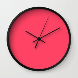 Lovely Pink Wall Clock