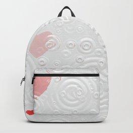 Elegant Red Hearts Backpack