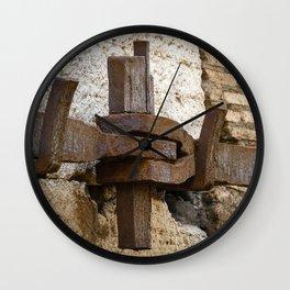 Steel anchor Wall Clock
