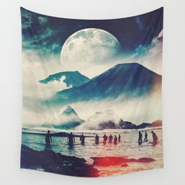 Moon Followers Wall Tapestry