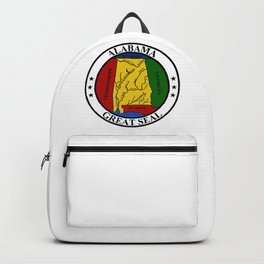 Alabama State Seal Backpack