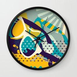Retro Summer Wall Clock