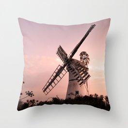 Thurne Windmill Throw Pillow
