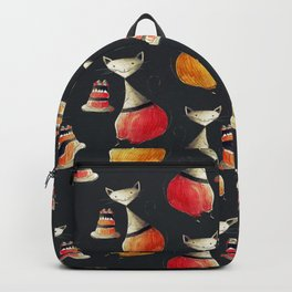 Greedy Cats Love Cake Backpack