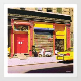 Village New York City Art Print