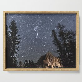 Orion | Nature and Landscape Photography Serving Tray