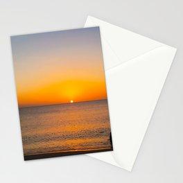 Saint Lucia Sunset on Sugar Beach Stationery Cards