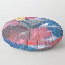 El Alma retorna a su Patria Floor Pillow