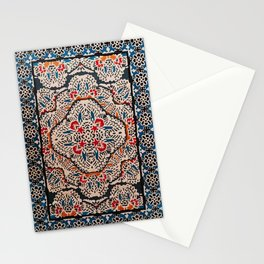 Bohemian Oriental Traditional Moroccan Illustration Design Stationery Cards