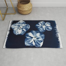 Painted Orchids Rug