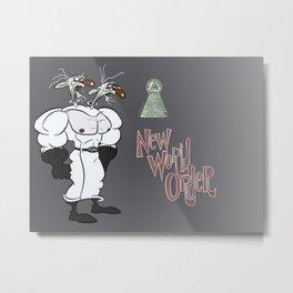 NWO Metal Print