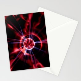 neon vortex Stationery Cards