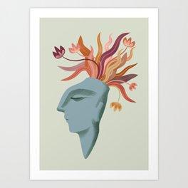 The Dreamer: Autumn Art Print