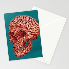Bricks and Mortal Stationery Cards