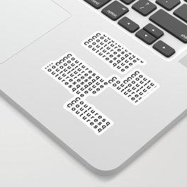 Couturesque Logo - Multi Sticker