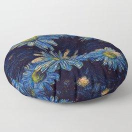 Van Gogh Daisies Floor Pillow