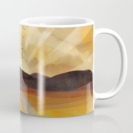 Desert in the Golden Sun Glow II Coffee Mug