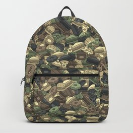 Fast food camouflage Backpack