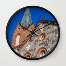 Finland, juva, church Wall Clock