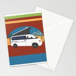Desert Pop Top Van Stationery Cards