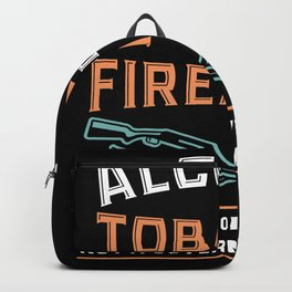 Alcohol Tobacco Firearms - Gift Backpack