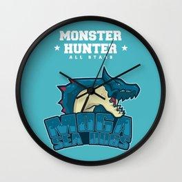Monster Hunter All Stars - Moga Sea Dogs Wall Clock
