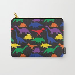 Dinosaurs - Black Carry-All Pouch