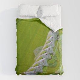 Tomato Horn Worm Comforters